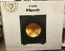 Klipsch R-12SW Reference Powered Subwoofer New Sealed      Retail $449
