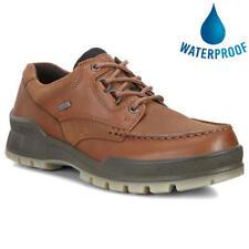 Ecco Shoes Track 25 Mens GTX Waterproof Brown Walking Hiking Shoes Size 8-12.5
