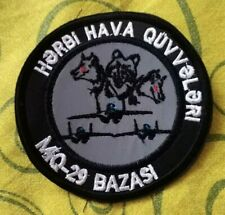 Azerbaijan Air Forces Cloth Patch MIG-29 Embordered