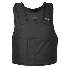 Light Weight Concealed Body Armor Bullet Proof Black XL Vest NIJ level IIIA 3A