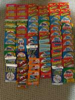 Vintage Old Baseball Cards - Unopened Packs from Wax Box  Huge  120  Card Lot