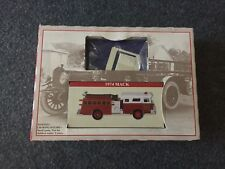 1974 Mack Fire Truck and Book Mark SET 2000 NEW READERS DIGEST GIFT FOR YOU