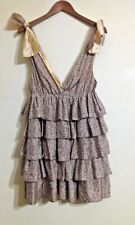 By MALENE BIRGER Stunning Silk Layered Dress Size 34 Size  (8-10)