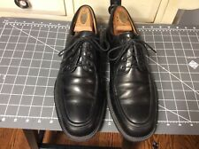 BOSTONIAN Made in Italy Strada Lace Up Oxford Shoes Black Leather Men's 11M