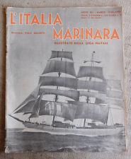 L'Italia Marinara illustrato della lega navale marzo 1940
