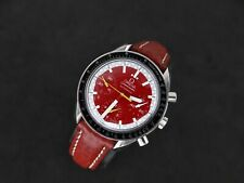 OMEGA SPEEDMASTER RACING SCHUMACHER RED CHRONOGRAPH AUTOMATIC STEEL 175.0032