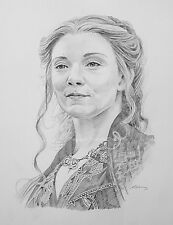 Margaery Tyrell Original Pencil Drawing