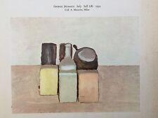 """Giorgio Morandi """"Still Life"""" & Giusppe Capogrossi """"Surface"""" Reprint"""