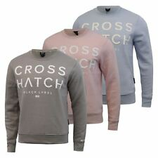 Mens Sweatshirt Crosshatch Tetchill Jumper Pullover
