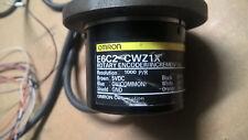 PLC OMRON E6C2-CWZ1X Rotary Encoder INCREMENTAL 1000P/R 5VDC