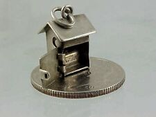 Vintage Sterling Silver Movable Opening Out 00004000 House Charm 1940's
