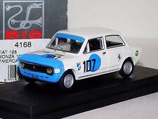 FIAT 128 #107 VIMERCATI MONZA 1971 RIO 4168 1:43