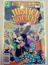 ALL STAR COMICS PRESENTS: JUSTICE SOCIETY OF AMERICA 71 VF+ DC PA2-266