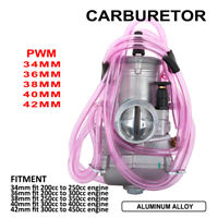 Aluminum 34mm 36mm 38mm 40mm 42mm PWM Carburetor Carb For 200cc-450cc Motorcycle