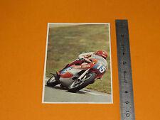 CHROMO CHOCOLAT POULAIN 1976 CONNAISSANCE CYCLE MOTO PATRICK PONS 350 YAMAHA