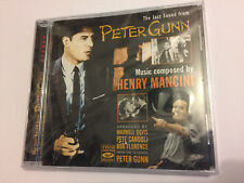 THE JAZZ SOUND FROM PETER GUNN (Mancini) OOP 1994 Soundtrack Score OST CD SEALED