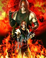 WWE KANE HAND SIGNED AUTOGRAPHED 8X10 PHOTO WITH PICTURE PROOF AND COA 34