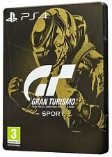 Gran Turismo Sport Steelbook Limited Ed. PS4 - LNS