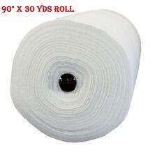 "Pellon Natural 100% Cotton Scrim Batting 90"" x 30 Yards Roll Machine Quilting"