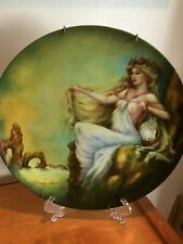 """The Four Ancient Elements """"Water"""" Collector's Plate - Edwin Knowles China"""
