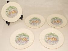 """GIEN - Les Saveurs / Les Fromages - Porcelain Salad 8 1/2""""  Plates *SET of 5"""