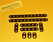 MECCANO ELEKTRIKIT PARTS 501 502 503 513 INSULATING STRIPS x 9pcs