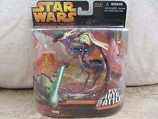 Star Wars -Revenge of the Sith  Yoda  Fly into Battle  NOC (716DJ23) 85567