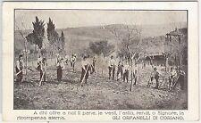 CARTOLINA d'Epoca - RIMINI provincia : Coriano - ORFANELLI -- BELLA!! 1926