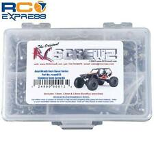 RC Screwz Stainless Steel Screw Kit Axial Wraith Rock Racer RCZAXI013