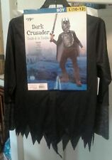 NEW w/tags Dark Crusader Costume Halloween Boys Size L 10-12 #187