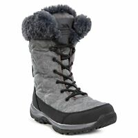 Trespass Esmae Womens Snow Boots Waterproof Ski Winter Boots With Fleece