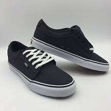 "Vans Men's Shoes ""Chukka Low''--Obsidian/Black"