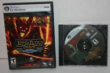 Lord of the Rings Online: Mines of Moria PC Computer Game 2008 + Bonus