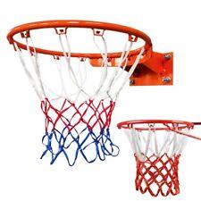 Basketball Durable Nylon Braided Goal Hoop Net Netting Mesh Rim Replacement Us