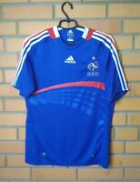 France Jersey 2007 2008 Home SMALL Shirt Adidas Football Soccer Trikot Maglia