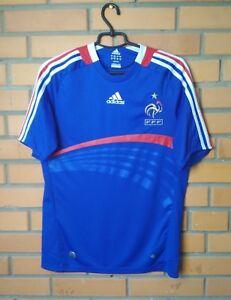 France Jersey 2007 2008 Home SMALL Shirt Adidas Football Soccer Trikot Maglia