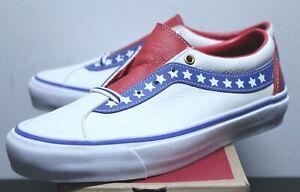 Vans Bold Ni Americana Red White True Blue Men's Size 7-13 VN0A3WLPTNT Brand New