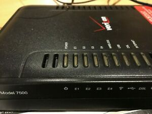 Westell 7500 4-Port 10/100 Wireless Router (WESTELL7500)