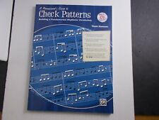 * Percussionist'S Guide To Check Patterns Songbook-Mp3-Cd