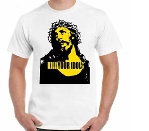 Kill Your Idols T-Shirt As Worn By Axl Rose Mens Guns & Roses Size S-5XL