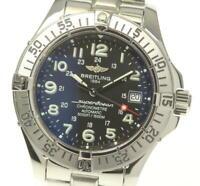 BREITLING Super Ocean A17360 Date black Dial Automatic Men's Watch_554165