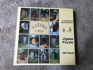 vintage 1990 Nature Calls 550 piece jigsaw puzzle, new