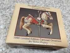 The Indianapolis Children's Museum 1990 Carousel Ornament by Tobin Fraley