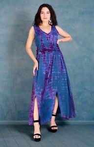 Jordash Dress Long Navy Purple L/XL