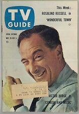 Nov 29 1958 TV Guide magazine with Victor Borge on the cover