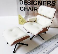 Japan REAC 1/12 Miniatures Doll Designer Interior Collection  CP01LT-03 Chair