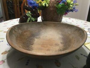 Antique Wooden Bread Dough Bowl-FINAL LISTING