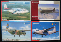 4x Special Hobby - CASA C-212-100, C-41A, C-33 /39 US Transport Plane - 1:72 Kit