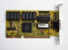 Trident TVGA8900CL - Quadtel ISA 1MB Graphics Card