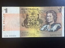 Austraia 1974 - 1983 1 One Dollar Banknote Pick 42